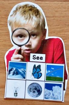 5 Senses Sorting Mats with Real Photos