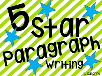 5 Star Paragraph Writing