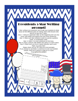 5 Star Writing-Presidents