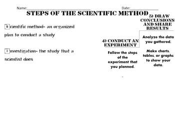 5 Step Scientific Method Made Easy