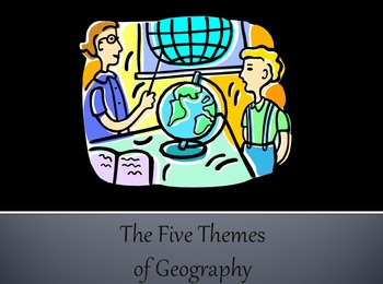 5 Themes of Geography Unit