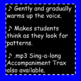5 Tone Chorus Warm-up ♫  ♫  ♫  with Numbers and Vowels ♫