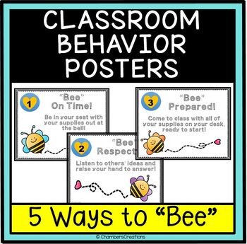 """5 Ways to """"Bee"""" in the Classroom (Rules)"""
