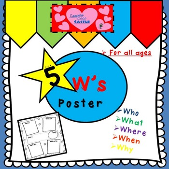 5 W's Poster