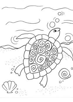 5 fun guided drawings: sea creatures!