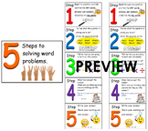 #ausbts17 5 steps for solving math word problems