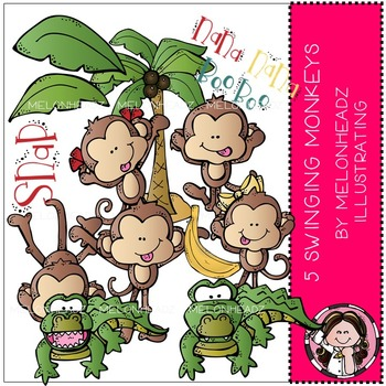 Melonheadz: 5 Swinging Monkeys