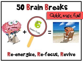 Brain Breaks - Re-energize, Re-focus & Revive little brains