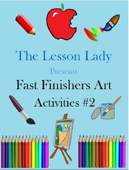 50+ Creative Art Activites for Fast & Early Finishers - Part 2!