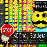 Emoji Borders {The Teacher Stop}