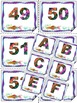 Fish Themed - Alphabet - Numbers - Frames - Labels - Back