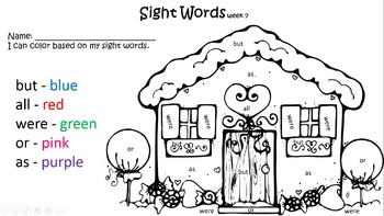 50 High-Frequency Sight Words
