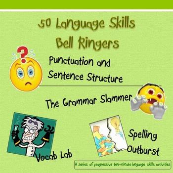 !?! 50 Language Skills Bell Ringers !?!