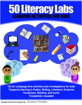 50 Literacy Labs - Spelling Writing Grammar Poetry Literat
