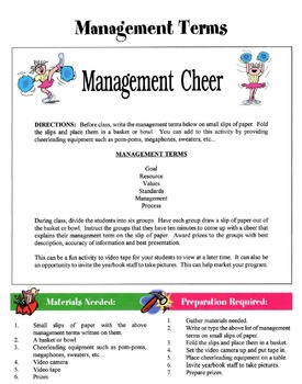 50 Management Games & Activities Packet