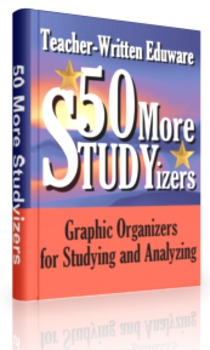 50 More STUDYizers (Graphic Organizers for Studying and An