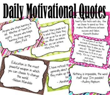 50 Motivational Quotes