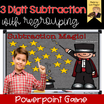 3 Digit Subtraction with Regrouping Interactive Powerpoint