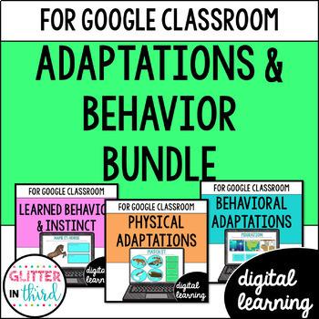Adaptations & Behavior for Google Drive & Google Classrooom