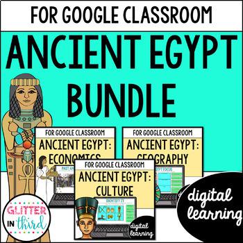 Ancient Egypt for Google Drive & Google Classrooom