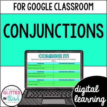 Conjunctions for Google Drive & Google Classroom