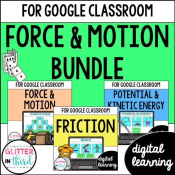 Energy & Motion for Google Drive & Google Classroom