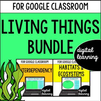 Habitats & Ecosystems for Google Drive & Google Classrooom