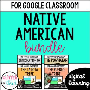 Native Americans for Google Drive & Google Classrooom