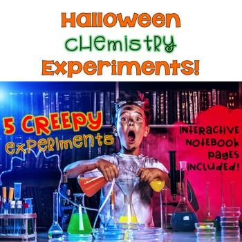 50% OFF! Halloween Chemistry Experiments