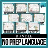 No Prep Language Growing Bundle