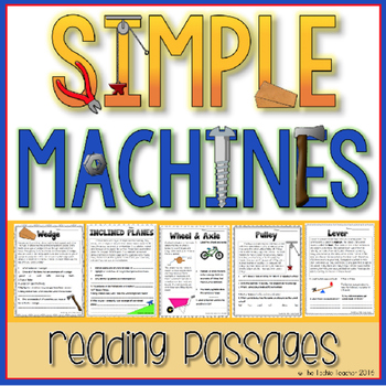 Simple Machines Reading Passages