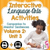 Interactive Language Arts Activities: Vol 2, THIRD Mentor