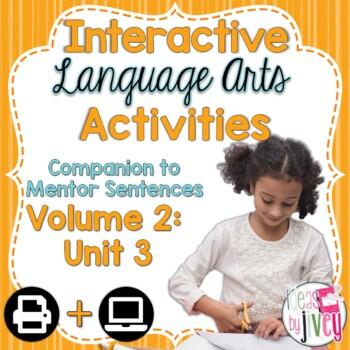Interactive Language Arts Activities: Vol 2, THIRD Mentor