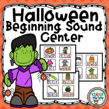 Halloween Beginning Sounds Center