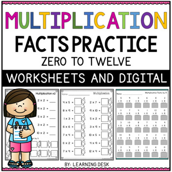 Multiplications Facts Worksheets