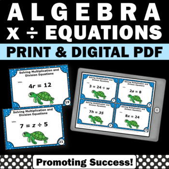 Evaluating Multiplication and Division Expressions Algebra Games