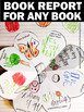 Book Report for Any Book Foldable Literacy Center Reading