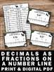 Decimals as Fractions on a Number Line Games