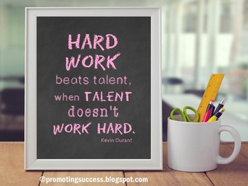 Motivational Quote Posters about Hard Work Inspirational T