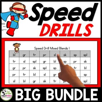 Speed Drills Big BUNDLE for Guided Reading and Centers