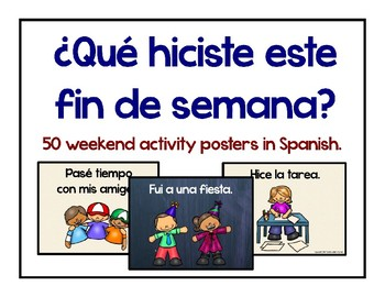 50 Spanish Weekend Posters