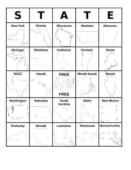 50 States BINGO!
