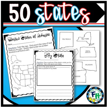 50 States Pack (Games & Activity Pages)
