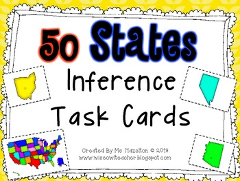 50 States Inference Task Cards