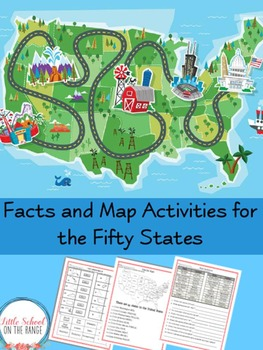 Fifty States - Facts and Geography Activities