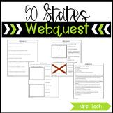 50 States Webquest