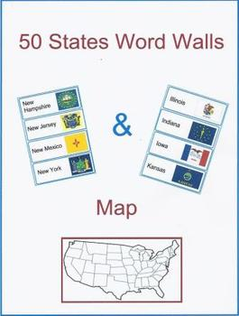 50 States  Word Walls & Map