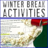 Christmas Break Activities