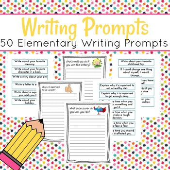 50 Writing Prompts for Elementary Writers