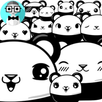 50 cute pandas [Emotions Pack]